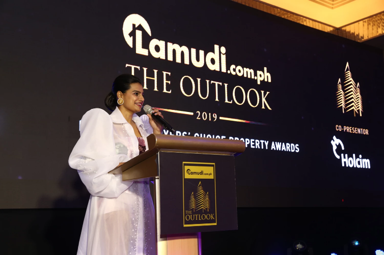 Bhavna Suresh, CEO of Lamudi Philippines, at The Outlook 2019 Awards