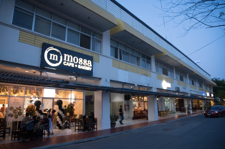 FACADE of Mossa Cafe + Bakery