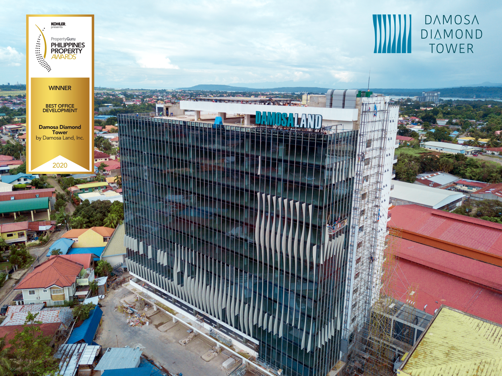Damosa Diamond Tower, Davao's newest gem, attracts professional services firm