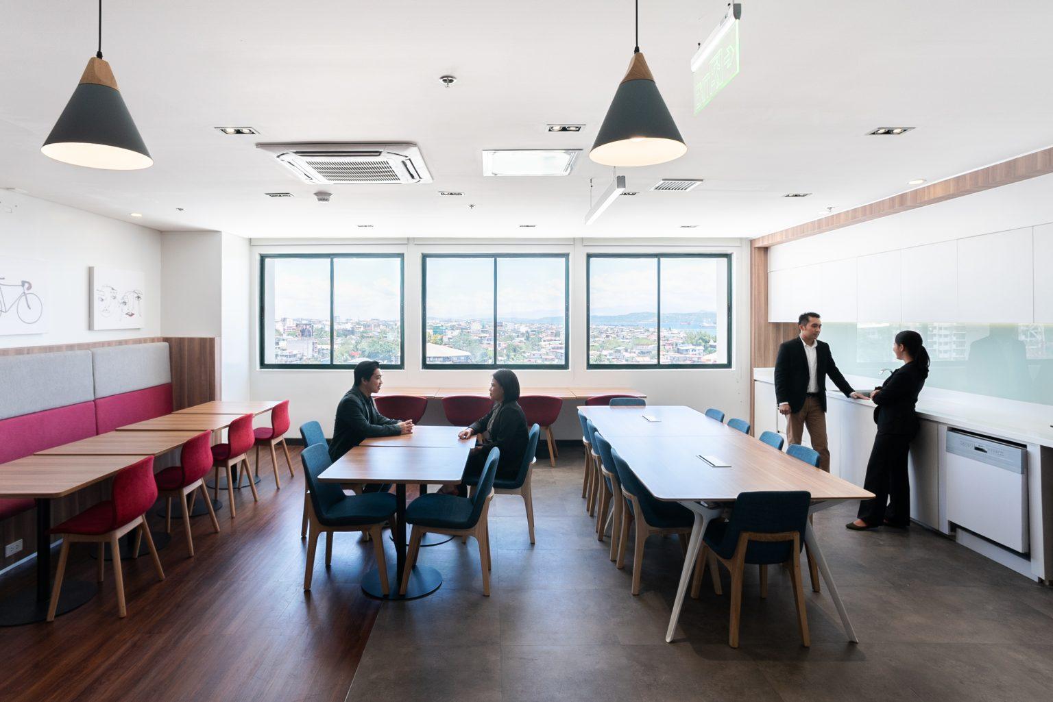 Regus; IWG; Damosa Land; Flexible Workspace